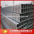 20* 20- 100* 100มาตรฐานสังกะสีคาร์บอนท่อเหล็กสแควร์