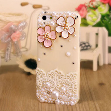 Fancy Peral Cell Phone Case for Iphone5s/5c/4/4s