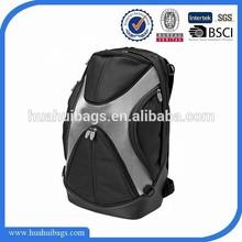 2015 hot selling black motorcycle helmet backpack for boys
