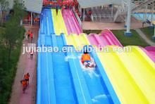 Interesting tournament water slide long water slide
