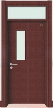 China wholesale price durable single leaf flush door