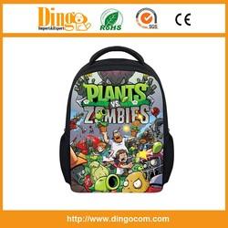 new type plants vs zombies hot selling school bag backpack,best gifts plants vs zombies hot selling school bag backpack