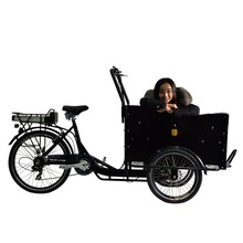 3 wheel electric bike cargo/scooters china cargo tricycle with cabin