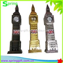 United Kingdom london big ben clock Souvenir and metal big ben london real clock model