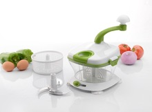 Vegetables and Fruits Chopper Herb Chopper Plastic Food Processor