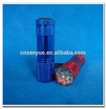 Ningbo cheap aluminium mini led torchlight