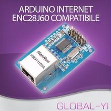 Trade Assurance Gold Supplier ENC28J60 Network Module Ethernet LAN Module For audrino SPI AVR PIC LPC STM32