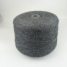 Cotton Ployester blending black and white Yarn for mop