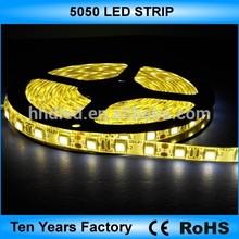 CE RoHS warm white 5050 smd led strip light