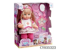 HOT SELLING MAKE UP DOLL WITH EN71,ROHS