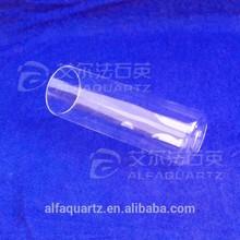 Quartz test tube,flat bottom,5ml~25ml / quartz tube with one end closed