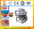Fabricantes de venda completa- automática do vácuo da carne esfregando/rolling machine/vácuo de carne caindo máquina or-600