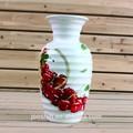 Grande la nueva decoración diseño para el hogar de la flor florero de cerámica