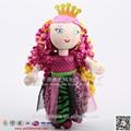Icti auditada de la felpa de colores de la princesa de peluche muñeca