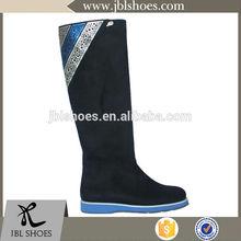 most famous black hot girls boots ladies flat shoes