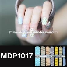 Nail shell strip nail art