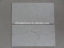 Italy Marble Carrara White Tiles Natural Stone Marble Slab