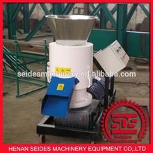 wood pellet machine with diesel engine/biomass pellet machine for fuel/biomass small pellet mill