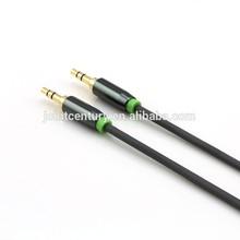 High grade custom color car audio aux 3.5mm usb cable