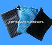 Blue durable mesh net bag