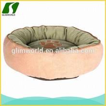 Luxury short plush and soft velour dog shaped cushion