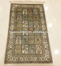 fashion handmade silk carpet rug hand knotted prayer rug for sale