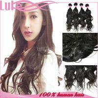 Peruvian Curly Wave Hair Weaving, 18 inch Hair Weaving Remy Extension, Hair Weaving Nets Mesh