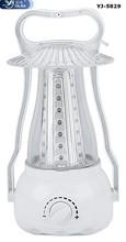 YAJIA adjustable 42Led Rechargeable emergency lantern/dual energy source YJ-5829