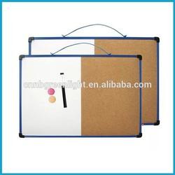 Hanging Magnet Whiteboard,half white board half cork board
