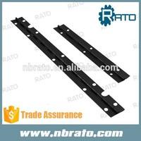 RPH-104 long continuous black piano hinge