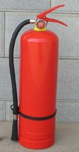 red valve Portable dry powder fire extinguisher