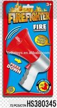 children interesting loudspeaker fireman toy