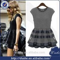 high quality sexy dress/women dress balloon dress wholesale