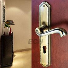 Brass KB front door locks