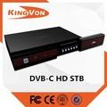 Hd dvb-c( m88cc6000) digital tv cable set top box