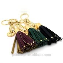 Fashionable Car key charms bag pendant big Tassel key chain