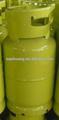 Protable vacíos de glp 12.5 kilogramos de cilindros de gas
