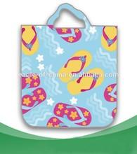 beach shoes printing shopping bag