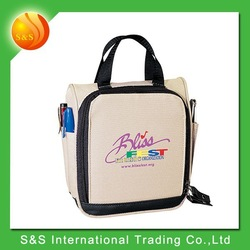 polyester traveler cute cd dvd case with carry handle
