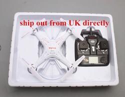 F08584 Syma X5C 2.4G 6 Axis 2.0MP HD Camera RC Quadcopter FPV Drone RTF 3D RC Helicopter + FS