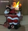 2015 venda quente papai noel levou a música de natal e decoração