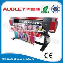 CE inkjet printing machine/flex banner printer with dx5 head