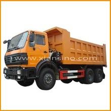 Caminhão diesel 380hp caminhão basculante 6x4 340-460hp drive motor para venda