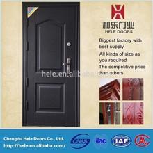 China cheap steel door for used metal securtiy doors