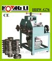 Hhw-g76 ferro automático da máquina de dobra com ce