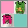 Baratos de china al por mayor de ropa para niños suéter chaleco sin mangas 2015 nuevos diseños para los niños de otoño/chaleco de invierno