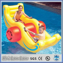 2015 newest inflatable water games\/water slide\/seesaw for children