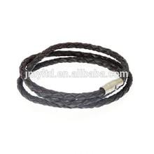 Leather Strap Wrap Around Leather Bracelet - (MAX WRIST SIZE 19cm) - Wraps Around The Wrist 3 Times