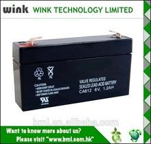Hot Sale 6v 1.2ah UPS Battery