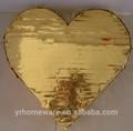 Ouro ou prata coração pinata, pinata aniversário